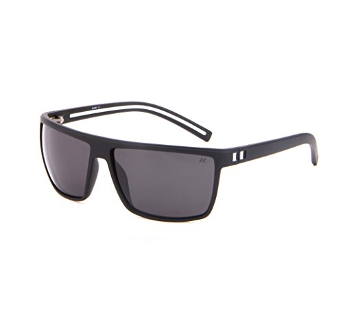 Tacloft Wayfarer 62mm Polarized Sunglasses TR008 (Black White Frame/Black - Sunglasses Polarized Stylish