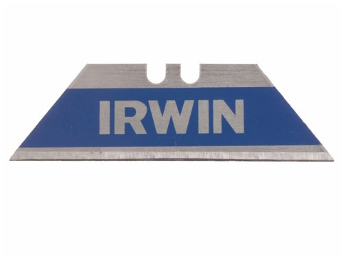 Bi-Metal BLUE BLADE Utility Knife Blades 100 per Package (500 Total Blades) (Irwin Safety Blade)
