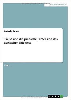 Book Freud und die pränatale Dimension des seelischen Erlebens
