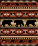 Black Bear Throw - Black Bear Lodge High Quality Raschel Blush Queen Size Blanket