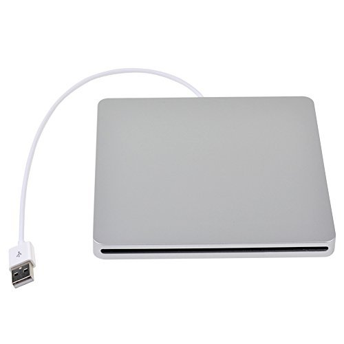 Ckeyin174; Slot in USB Slim SATA External DVD/RW Optical Drive Burner Writer Case Enclosure Caddy For Apple iMac/Macbook/ Macbook PRO/Mac Mini Superdrive by CkeyiN
