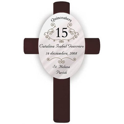 Personalized Gift Quinceanera (Personalized Quinceanera Cross)