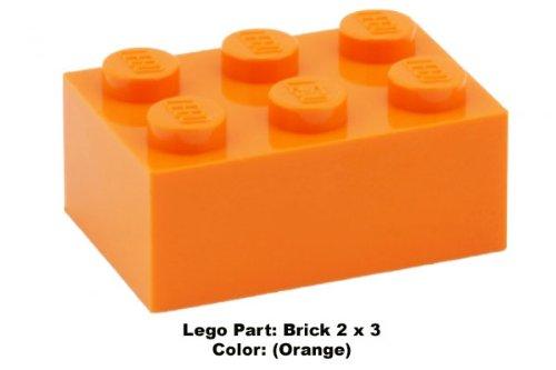 Lego Parts: Brick 2 x 3 (Lego Halloween Moc)