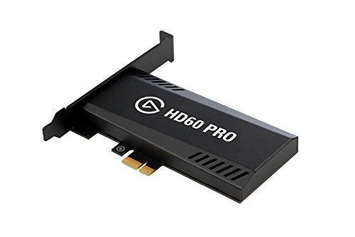 Elgato Game Capture HD60 Pro, stream and record in 1080p (Renewed)