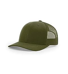 Amazon.com: Richardson Black 112 Mesh Back Trucker Cap Snapback Hat: Clothing