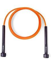 AX Esportes Corda de Pular Fitness PVC, Laranja, Único