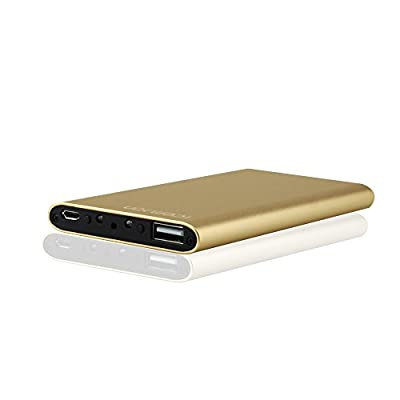 icemoon Hidden Camera Power Bank Motion Activated Recording HD Home Security Camera Nanny Spy Camera(Golden) from icemoon