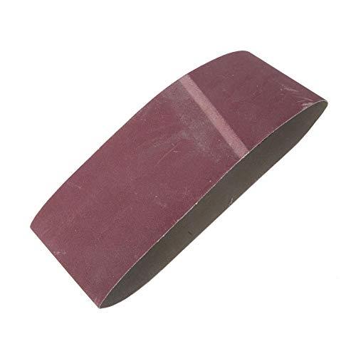 10PCS 610x100MMサンディングベルト、木工、金属研磨用酸化アルミニウムベルトサンダーツール(400#)