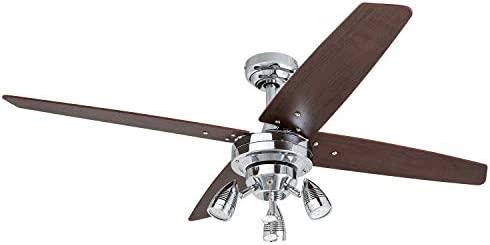 Prominence Home 51016 Civa Modern Farmhouse LED Ceiling Fan