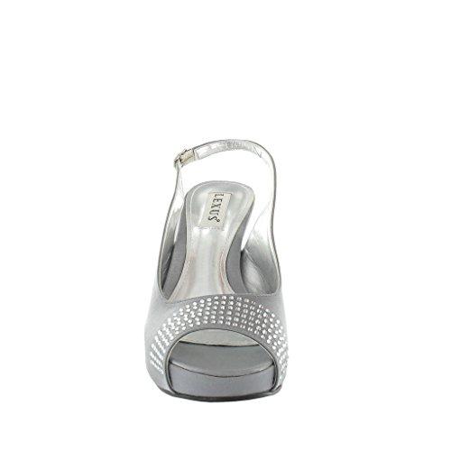 LEXUS - Sandalias de vestir para mujer gris - gris