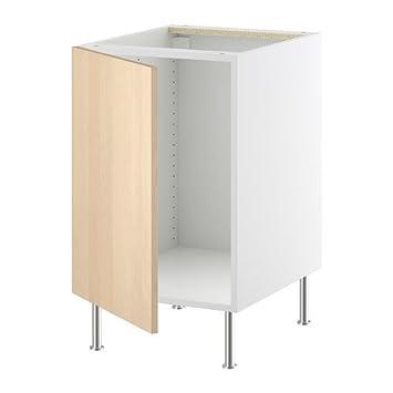 IKEA FAKTUM -Unterschrank für Spüle Nexus Birkenfurnier - 50 cm ...