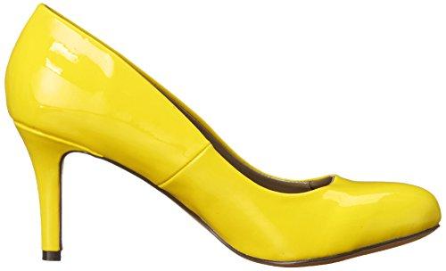 Michael Antonio Womens Finnea-pat Dress Pump Yellow
