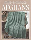 img - for Mile-a-minute afghans (Crochet treasury) book / textbook / text book