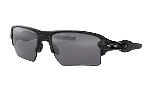 f57a67a386 Galleon - Oakley Men s Flak 2.0 XL Polarized Iridium Rectangular  Sunglasses