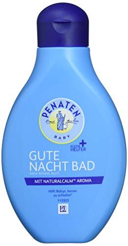 Penaten Kleine Helfer Gute Nacht Bad 400ml/Baby Badezusatz- Hilft Babys besser zu schlafen*/Mit NaturalCalm Aroma (1 x 400ml)