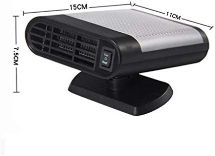DGEG Termoventiladores, Calefacción Portátil Auto 12V Que Refresca El Purificador Universal del Aire del Removedor De La Niebla De La Ventanilla del Coche (Color : Gray): Amazon.es: Hogar