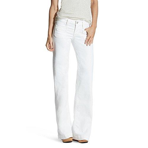 Ariat Womens Dawn Wide Leg Trouser Jean 30 S White