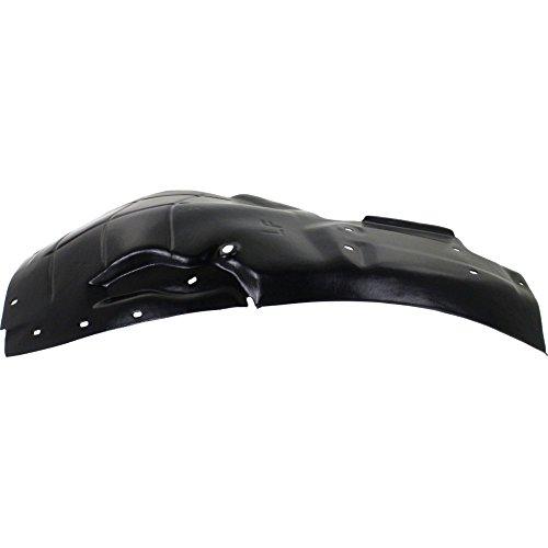 Evan-Fischer EVA183052913160 Splash Shield for XK/XKR 10-15 FRONT Front Section Left Side by Evan Fischer