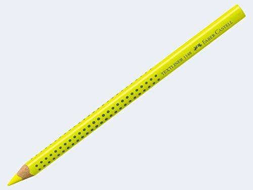 Faber Castell lápiz marcador textliner dry amarillo fluorescente 114807: Amazon.es: Oficina y papelería