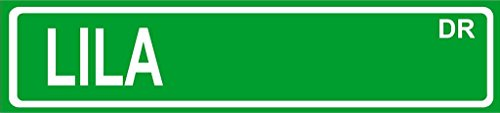 LILA Green Aluminum Street sign 4