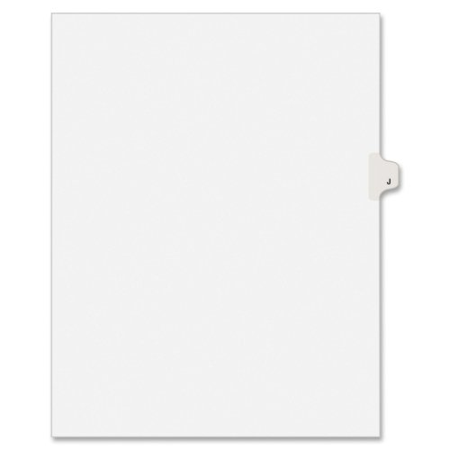 Avery Individually Lettered Tabs Legal Dividers - 25 x Divider - Printed