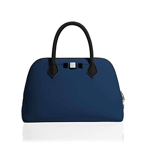 BAG MY Shopping PZ bleu SAVE PRINCESS Femme MAXI v5dwwq