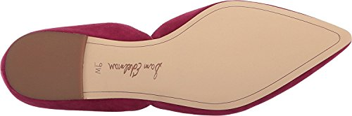 Sam EdelmanRodney - Rodney Para mujer Cranberry Suede Kid Suede Leather