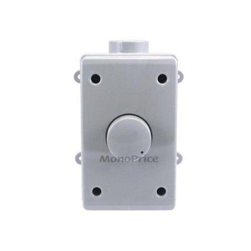 Monoprice 106849 RMS 70W Outdoor Speaker Volume Controller, Gray [並行輸入品] B019SZH5XC