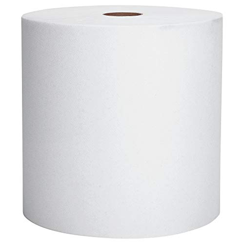 Scott Essential High Capacity Hard Roll Paper Towels (01005), White, 1000' / Roll, 6 Paper Towel Rolls / Convenience Case (Renewed)