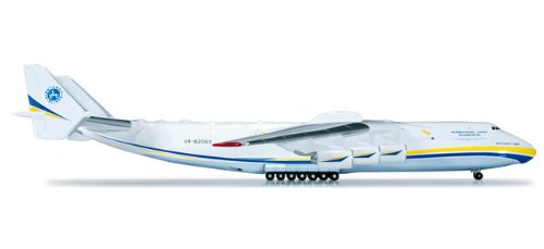 Daron Herpa Antonov AN225 1/400 BLUE/YELLOW