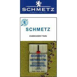 Schmetz Double Embroidery Needle - Size 2.0 75/11