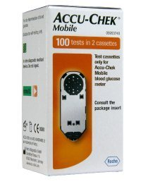 Accu- Check Mobile Test Cassettes 100 Tests