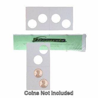 2 Hole – Penny/Cent Guardhouse 2×2 Mylar/Cardboard Coin Flips