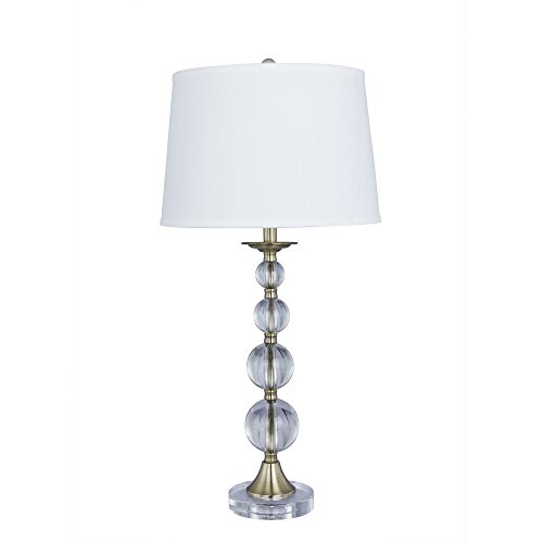 Cory Martin 30.5 in. Crystal & Metal Table Lamp
