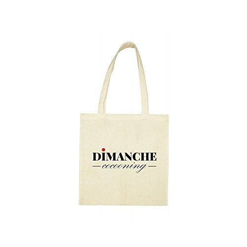 Tote dimanche Tote beige cocooning bag bag FzaqwYx