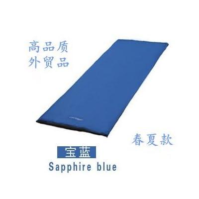 zhudj à l'ouvert pour adultes Sac de couchage, automne et hiver camping Epaississant (, ultra light protection thermique imperméable, Sac de couchage, camouflage, 0,7kg bleu