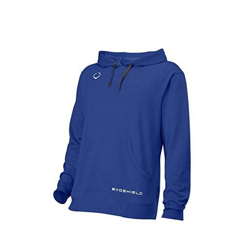 EvoShield WTV2089 Royal Blue Youth Medium Pro Team Fleece Hoodie Baseball by EvoShield