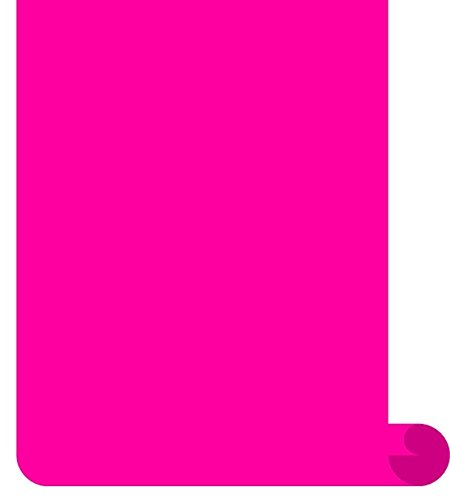 Siser EasyWeed Heat Transfer Vinyl HTV for T-Shirts 12 Inches by 3 Feet Roll (Fluorescent Pink)