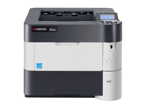 Kyocera 1102L12US0 Model FS-4200DN Black & White Network Laser Printer, 5 Line LCD Display Panel for Ease of Use, 52 Pages Per Minute, 2600 Sheet Maximum Paper Capacity, Convenient USB Host Printing Black & White Network