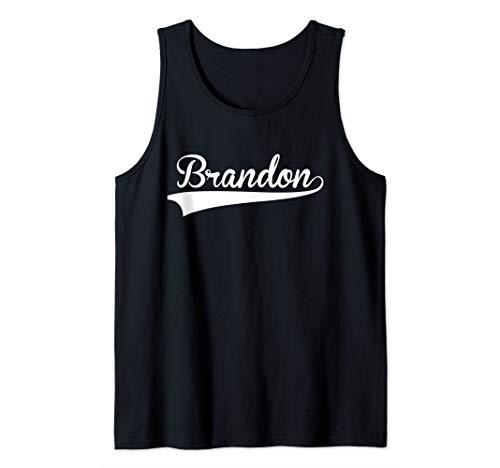 BRANDON Baseball Softball Styled Tank Top ()