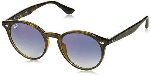 - Ray-Ban Men's Highstreet Non-Polarized Iridium Round Sunglasses, Havana, 51.6 mm