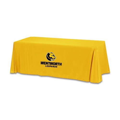 Wentworth Gold 6 foot Table Throw 'Official Logo' by CollegeFanGear