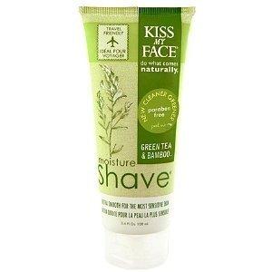 Kiss My Face Moisture Shave, Green Tea & Bamboo  3.4 oz (Pack of 4) Beautopia Multi-Peptide Moisturizer, 1.7 Ounce