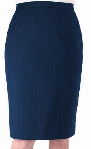 Edwards WOMEN'S PINSTRIPE SKIRT - Fully Lined Pinstripe Skirt
