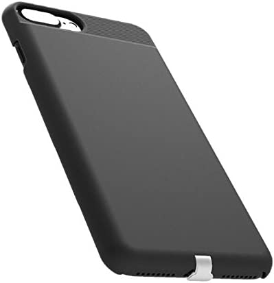 Black Slim Matte Protective Back Cover with Flexible Lightning Connector 4.7 Lokota Wireless Charger Charging Receiver Case for iPhone 6//6s//7//8