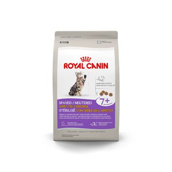 Royal Canin Spayed/Neutered Appetite Control 7+ Dry Food, My Pet Supplies