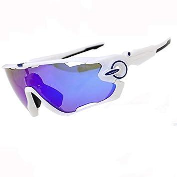 DAYANGE Gafas De Sol De Ciclismo Polarizadas Gafas De Bicicleta De Montaña 5 Lentes Uv400 Gafas