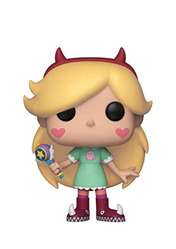 Funko 35769  Pop! Disney: Star Vs. Forces of EvilStar, Multicolor (Disney Star)
