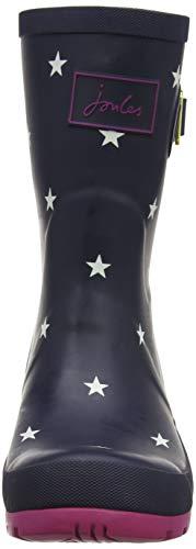 T Donna mollywelly Blue Exlnvst Stripe Stivali Joules Navy adtwqt