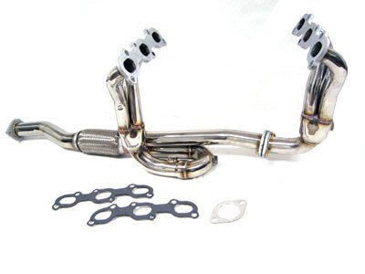 Nissan Maxima Exhaust Manifold - OBX Performance Exhaust Header Manifold 02-03 Nissan Maxima 3.5L VQ35DE